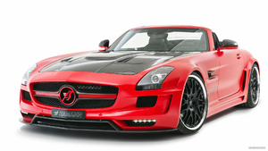 2012 HAMANN HAWK Roadster based on SLS AMG Roadster