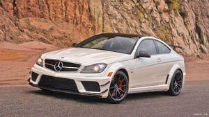 2012 Mercedes Benz C63 Amg Coupe Black Series Caricoscom