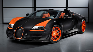 2013 Bugatti Veyron 16.4 Grand Sport Vitesse World Record Car