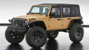 2013 Jeep Wrangler Sand Trooper II Concept from Mopar