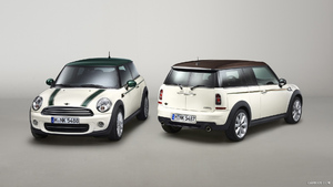 2013 MINI Green Park and MINI Clubman Hyde Park