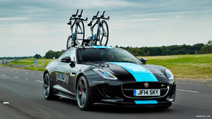 2014 Jaguar F-Type Team Sky Tour de France Concept