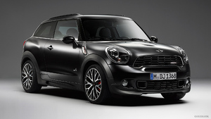 2014 MINI Paceman JCW Frozen Black