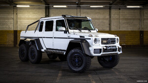 2015 Carlsson CG63 6x6 based on Mercedes-Benz G63 6x6 AMG