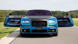 2015 MANSORY BLEURION based on Rolls-Royce Wraith