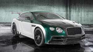 2015 Mansory GT Race based on Bentley Continental GT