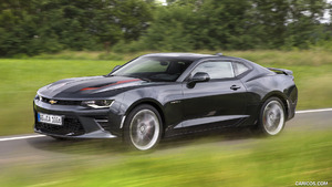 2016 Chevrolet Camaro Coupe and Convertible (Euro-Spec)