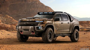 2016 Chevrolet Colorado ZH2 Fuel Cell EV Concept