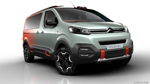 2016 Citroon SpaceTourer HYPHEN concept