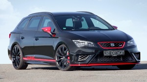 2016 JE DESIGN Seat Leon Cupra ST Street Race Widebody