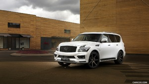 2016 LARTE Missuro White based on Infiniti QX80