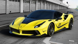 2016 MANSORY 4XX SIRACUSA based on Ferrari 488 GTB