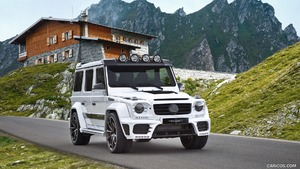 2016 MANSORY GRONOS Facelift based on Mercedes-AMG G63