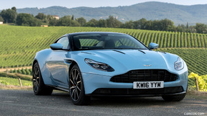 2017 Aston Martin DB11 Frosted Glass Blue