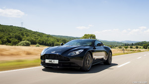 2017 Aston Martin DB11 Ultramarine Black