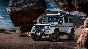 2017 BRABUS 550 ADVENTURE 4x4² based on Mercedes-Benz G-Class 4x4²