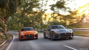 2017 Jaguar F-TYPE SVR Coupe and Convertible