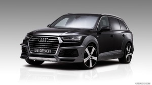 2017 JE DESIGN Audi Q7 and SQ7 Widebody
