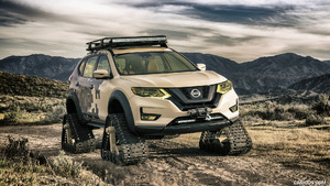 2017 Nissan Rogue Trail Warrior Concept
