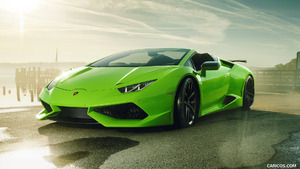 2017 NOVITEC N-LARGO based on Lamborghini Huracan Spyder