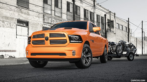 2017 Ram 1500 Rebel Mojave and Ignition Orange Sport