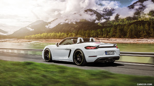 2017 TECHART Porsche 718 Boxster