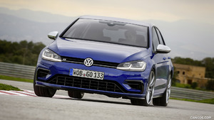 2017 Volkswagen Golf R and Golf R Variant Facelift (Euro-Spec)