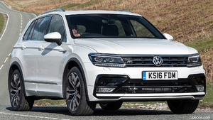 2017 Volkswagen Tiguan (UK-Spec)