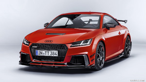 2018 Audi TT RS Performance Parts (Color: Catalunya Red) - Front | Caricos