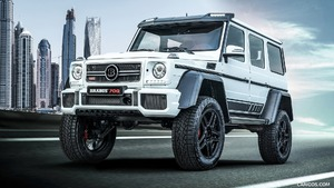 2018 BRABUS 700 4x4² One of Ten Final Edition based on Mercedes-Benz G-Class 4x4²