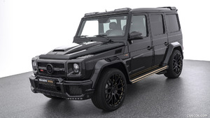 2018 BRABUS 850 Buscemi Edition based on Mercedes-AMG G 63