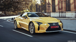 2018 Lexus LC 500 and LC 500h Hybrid
