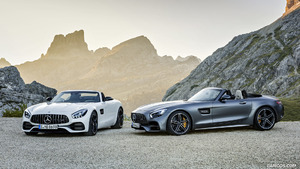 2018 Mercedes-AMG GT and GT C Roadsters