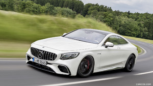 2018 Mercedes-AMG S63 Coupe and Cabriolet