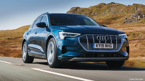 2019 Audi e-tron 55 (UK-Spec)