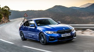 2019 BMW 3-Series (UK-Spec)