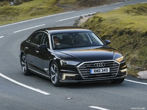 2020 A8 L 60 TFSI e quattro (UK-Spec)