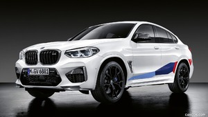 2020 BMW X3 M and BMW X4 M with M Performance Parts