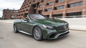 2020 Mercedes-AMG S 63 Cabriolet (US-Spec)