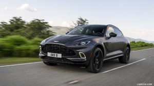 2021 Aston Martin DBX Sating Xenon Grey