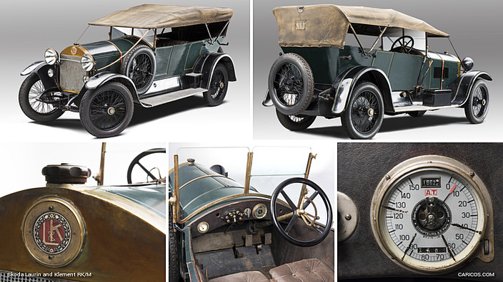 1921 Skoda Laurin and Klement RK/M