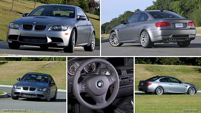 BMW M3 Frozen Gray