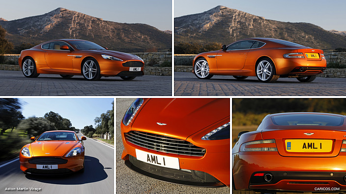 2012 Aston Martin Virage Madagascar Orange