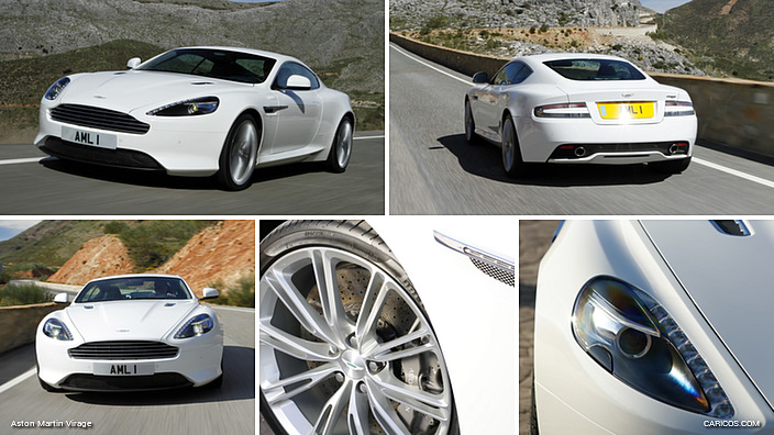 2012 Aston Martin Virage Stratus White