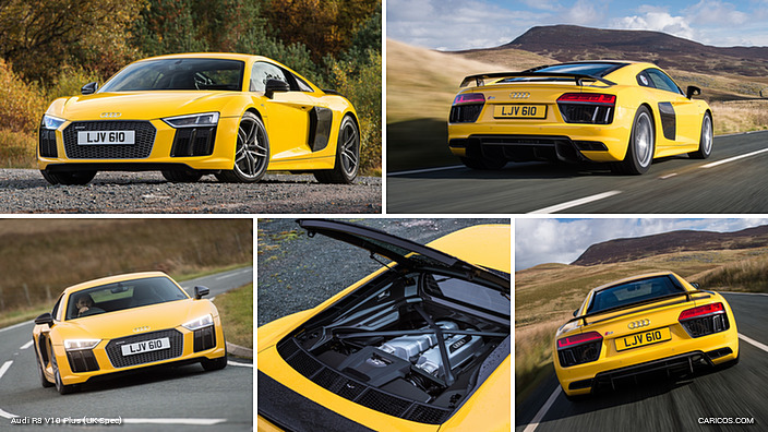 2016 Audi R8 V10 Plus Uk Spec Caricos