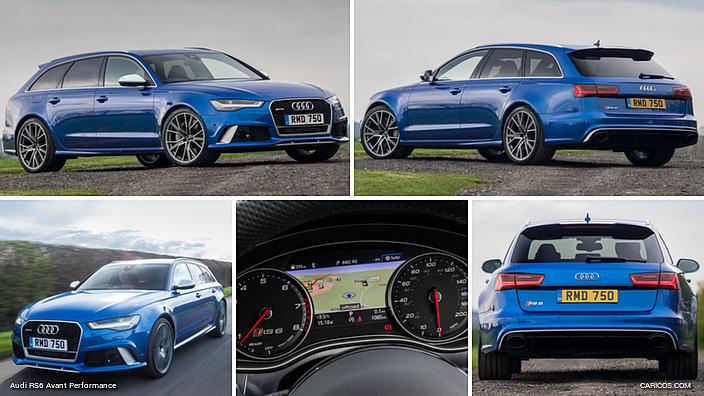 Audi RS6 Avant Performance (UK-Spec)