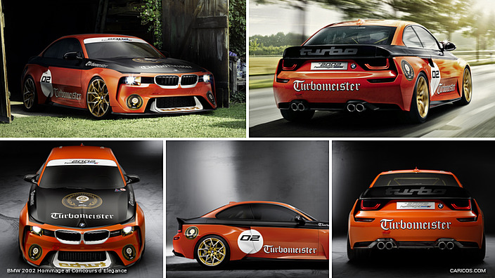 2016 Bmw 2002 Hommage At Concours Delegance Caricos
