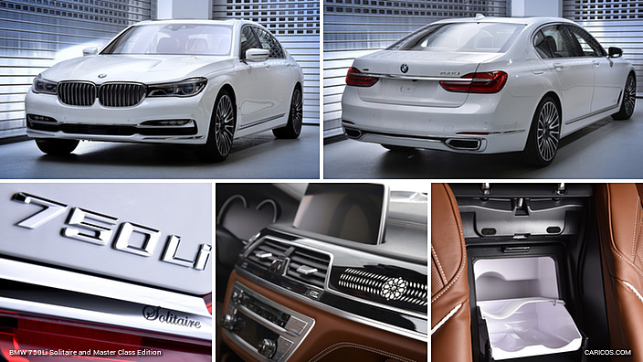 BMW 750Li Solitaire and Master Class Edition