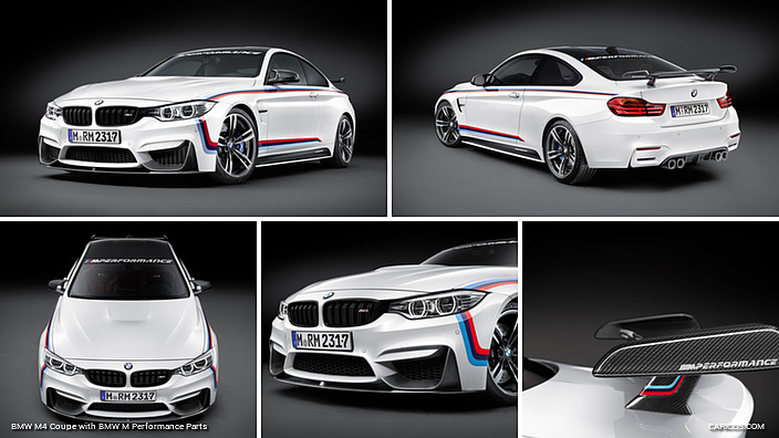 BMW M4 Coupe with BMW M Performance Parts
