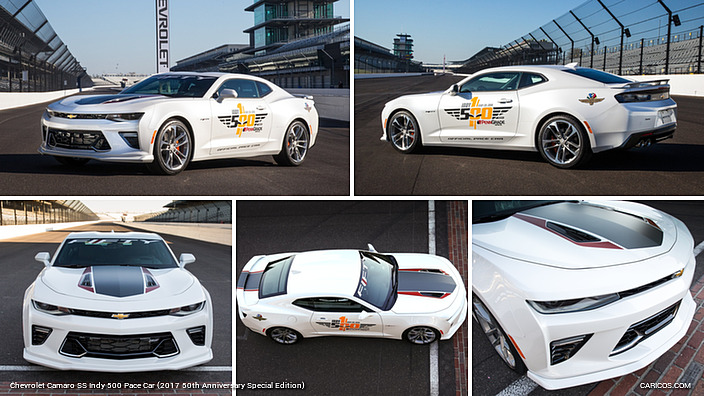 2016 Chevrolet Camaro Ss Indy 500 Pace Car 2017 50th Anniversary